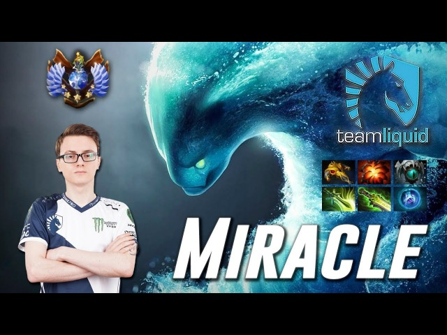 Miracle Divine Morphling PRO OFFLANE Dota 2