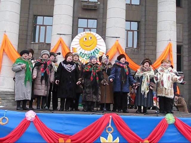 Народный хор ветеранов войны и труда ДК им. Молодой Гвардии - Барыня