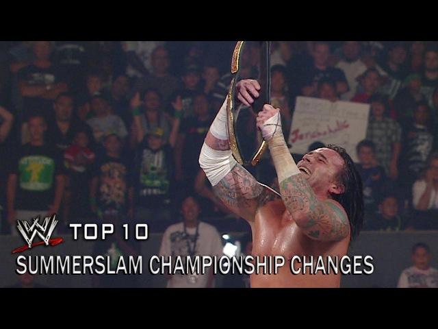 SummerSlam Championship Changes