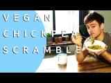Turmeric Chickpea Breakfast Scramble VEGAN Tom Daley