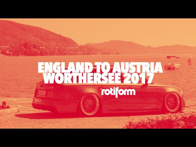 NEW* Rotiform England to Austria : Worthersee 2017