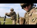 🔥 ВДВ США / 81-мм миномёт M252A1 на полигоне в Германии, боевые стрельбы