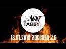AUNT TABBY видеоприглашение в ZOCCOLO 18.01.2018
