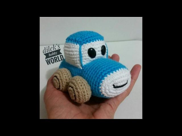 Amigurumi Örgü Araba Yapımı 1 Amigurumi Knitting Car 1