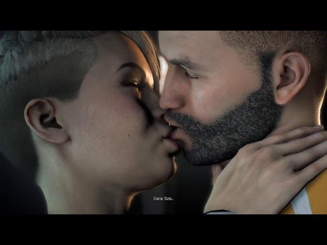 Mass Effect: Andromeda - Cora Harper sex scene