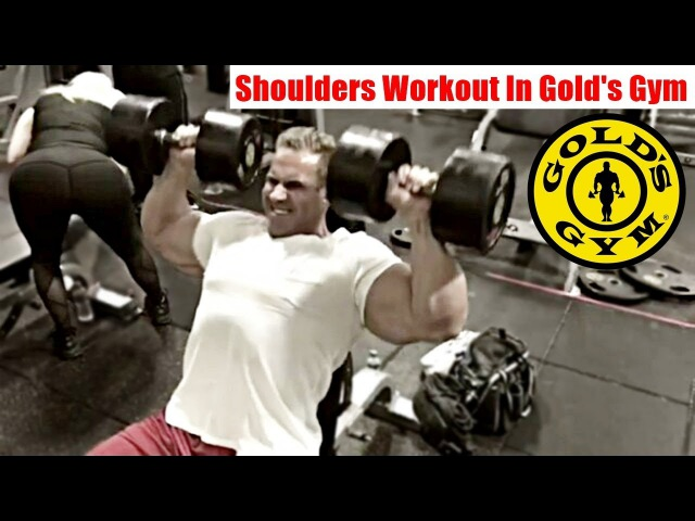 Jay Cutler Shoulders Workout In Gold's Gym Venice 2018