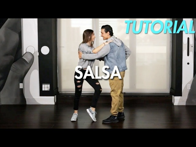 How to Salsa: Cross Body Lead (Ballroom Dance Moves Tutorial)   MihranTV