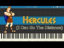 Hercules - I Can Go The Distance (Piano Tutorial)