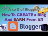 How to Create a Blog and Earn💰 from it | A to Z of Google BlogSpot [Part 1/2] [Urdu/Hindi]