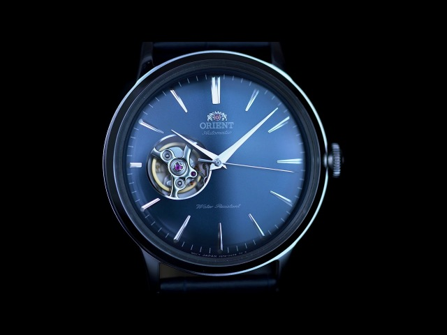 Orient Bambino Open Heart Mechanical Modern Classic Watch