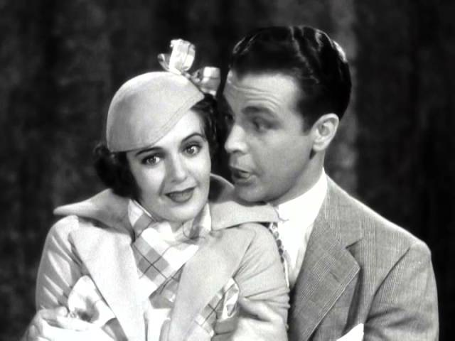 Ruby Keeler Dick Powell sing and dance: Opening to Pettin' in the Park, GOLD DIGGERS OF 1933