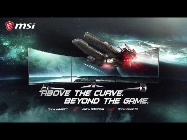 Нові вигнуті ігрові монітори MSI Optix MAG