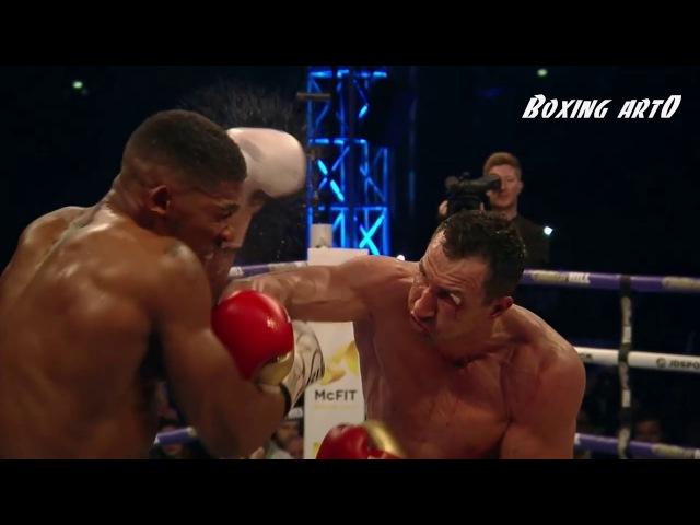 Anthony Joshua vs Wladimir Klitschko Highlights Fight of the Year 2017