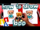 Kids' English   How To Draw Boo The Cutest Dog In The World - Gund Giveaway!