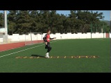 Football coaching video - soccer drill - ladder coordination (Brazil) 8