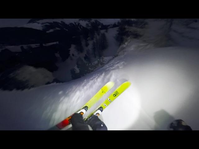 GoPro Snow French Night Ski Ride with Leo Taillefer