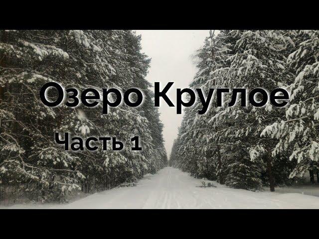 Озеро Круглое в Брянске Часть 1 Дорога к озеру