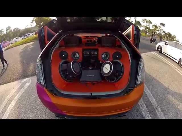 Tuning Cars (Toyota Prius) - Tr4p4 hornet 250cc 4x1flauta