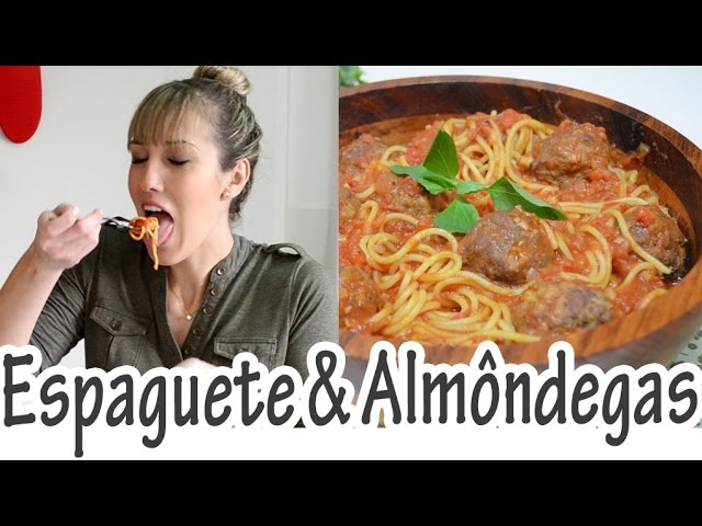 Спагетти с фрикадельками I ESPAGUETE AO SUGO COM ALMÔNDEGAS I Receitas e Temperos
