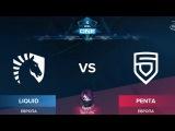 Liquid vs Penta RU (bo1) ESL One Genting 2018 Minor 23.01.2018