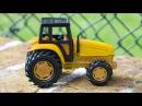 Мультики для детей - Трактор, Грузовик и Рабочие Машинки - Мультфильмы