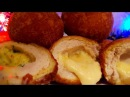 Мясные бомбочки Новогодние цыганка готовит Котлеты с сыром Gipsy cuisine