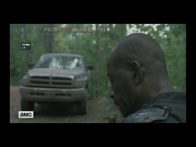 "The Walking Dead OPENING SCENE 8x13 ""Do Not Send Us Astray"""
