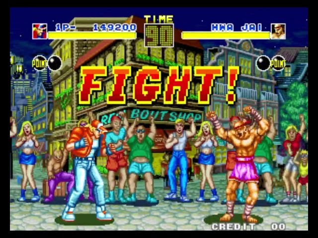 Fatal Fury: King of Fighters (Neo Geo Arcade) (By Sting)