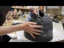 Как изготовить Лягушку из шамотной глины How to make Frog of chamotte clay