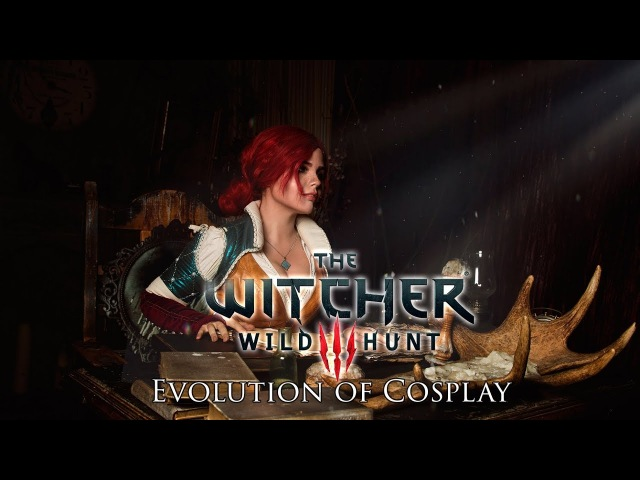 How I made Triss Merigold from The Witcher | Evolution of cosplay (rus sub)