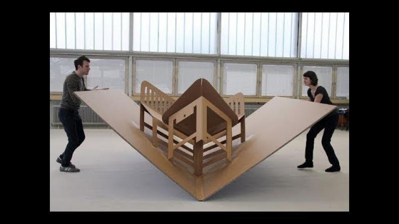 Increibles Ideas para Ahorrar Espacio - Muebles inteligentes ▶4