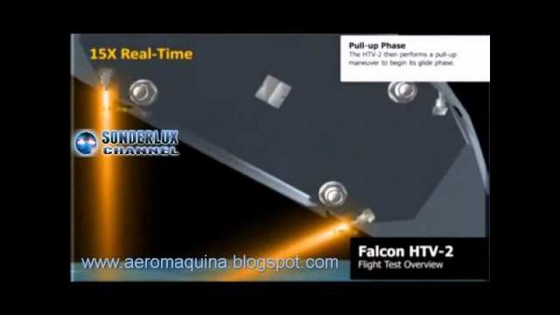 Falcon HTV-2 Hypersonic Technology Vehicle 2 / Aeronave Hipersónica