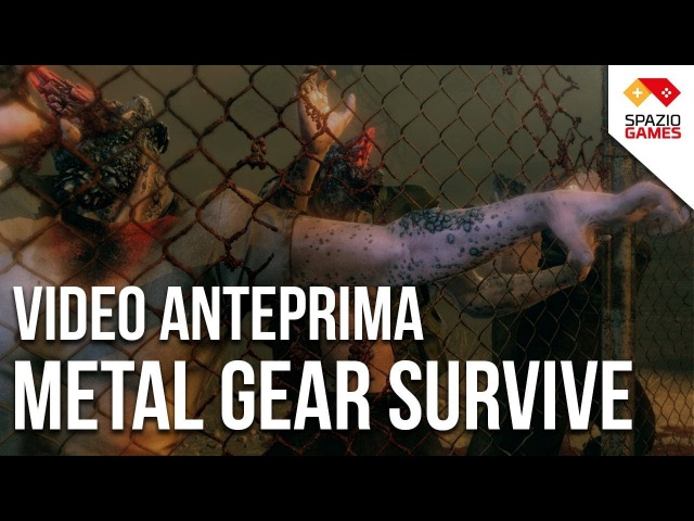 Metal Gear Survive, la prova del single player