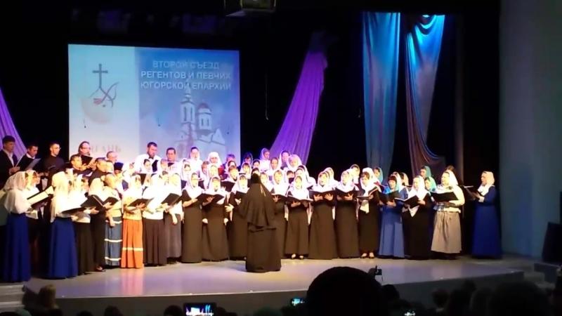 2 съезд реагентов и певчих в Нягани