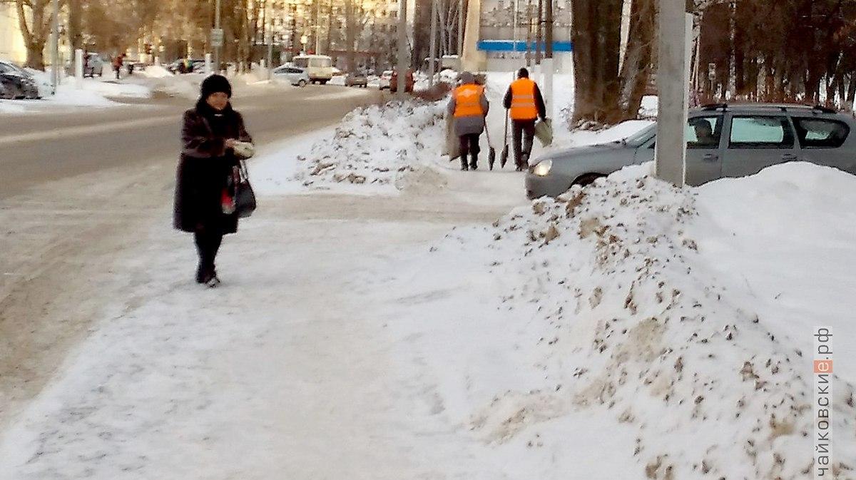 лед, Чайковский, 2018 год