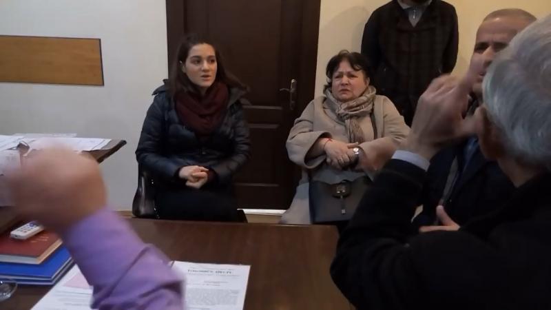 Конфликты между вице-президентом Азербайджанского общества глухих 1 часть
