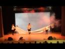 Танец с тканями. Дебют первокурсников
