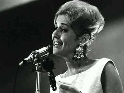 Ilana Rovina - Lean nodedin haholot - live in Sopot, 1963 Израиль.
