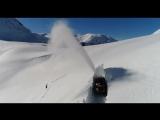 Как чистят дороги в Норвегии
