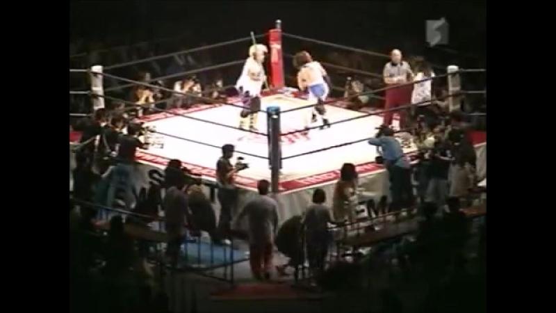 Noriyo Tateno, Yumi Ogura vs. Dump Matsumoto, Crane Yu