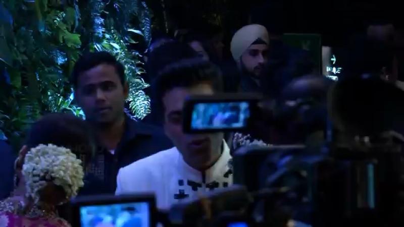 Вирата Кохли и Анушки Шармы свадебный приём полное видео.