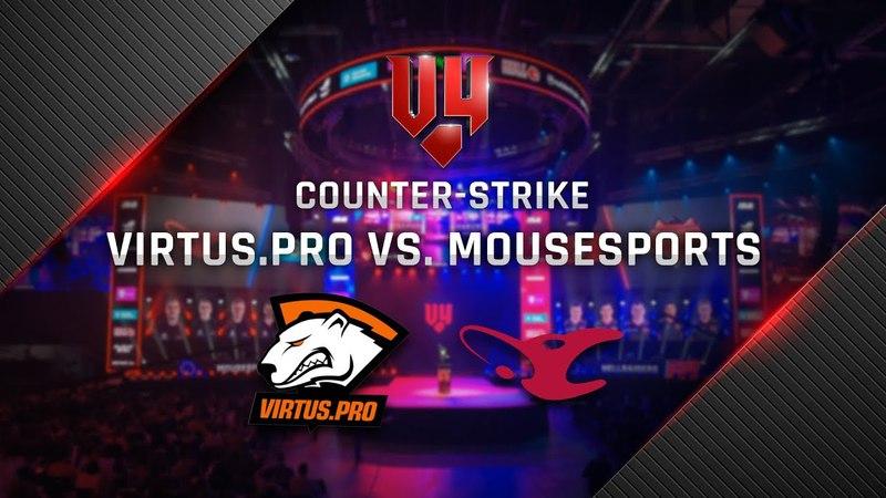 V4 CS:GO Finals - Grandfinal - Virtus.pro vs mousesports (cobblestone)