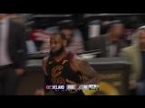 LeBron James with 35 Points vs. Portland Trail Blazers