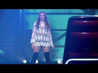 Девушка Классно поет песню Believer на шоу голос в Польше
