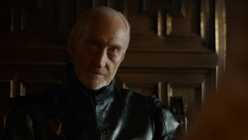 Game of Thrones S04E01 - Tywin Lannister and Jaime Lannister