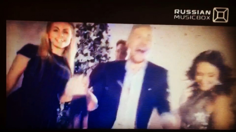 Новогодняя сказка на Russian musicbox ,Александр Рипчанский и Катерина Красильникова