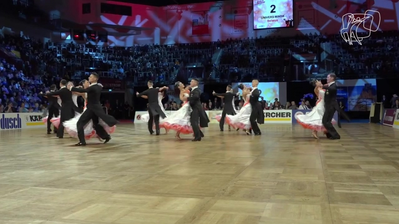 Univers Minsk Belarus, BLR - 2015 World Formation STD - DanceSport Total