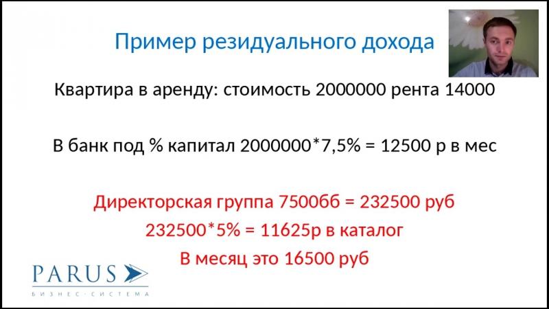 Движение денег в системе Д. Рублёв