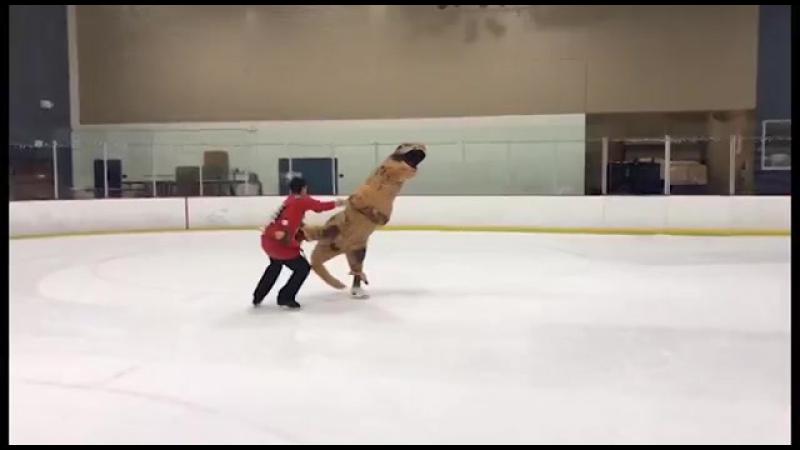 Танцы с динозаврами