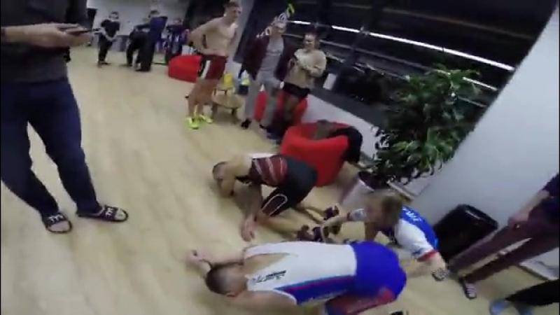 Indoor triathlon cup - 2017.3 этап.Артём Прилепов.